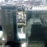 JP Morgan building in Canary Wharf. Pic: Danesman