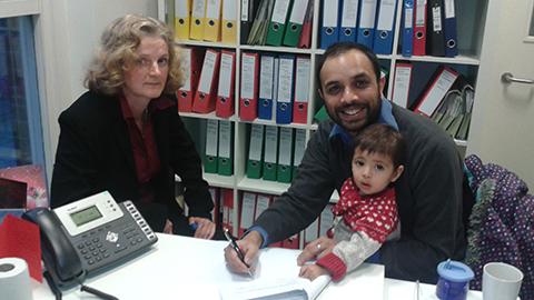 Shasha Khan and His Family-Photo Credit Shasha Khan