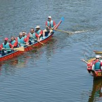 Dragon boat racing will be part of Canary Wharf's Sport Relief week. Pic: Onafly