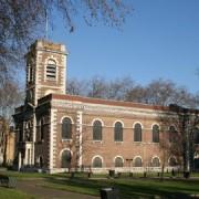 St. Matthews Church, Bethnal Green. Pic: Neil Clifton
