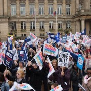 NUT teachers to go on strike 23 June Pic: Geoff Dexter