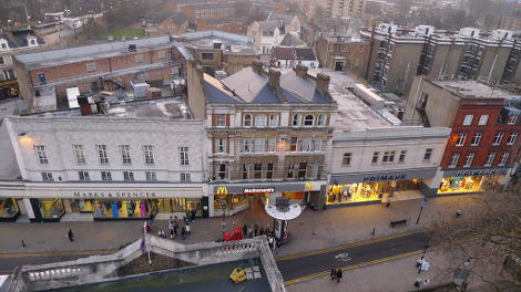 The pedestrianisation of Hackney high-street has had mixed reactions from local residents. Pic: Ewan Munro