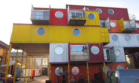 Container City. pic: Chiara Rimella