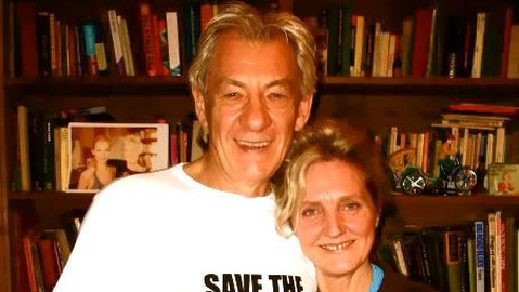 Ian McKellen has been vocal in his support for the campaign. Photo: Pauline Forster