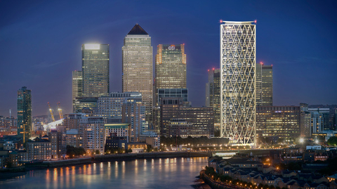 First Residential Skyscraper To Be Built At Canary Wharf