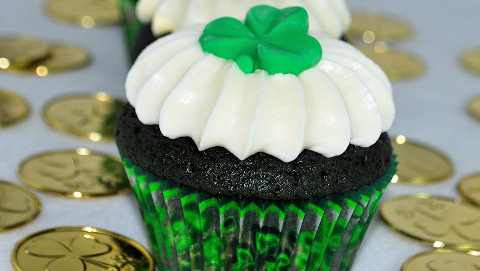 Enjoy the St Patrick's day dinner at . Pic: Frosted with Emotion
