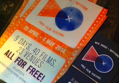 Festival flyers Pic: New Cross and Deptford Free Film Festival