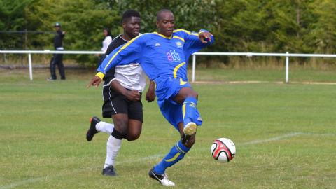 :ewisham Borough FC boasts a diverse ethnic membership Photo: Ray Simpson