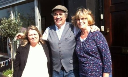 Official opening with MHA founder Toni Hale, Danny Baker and Mrs Katnoria, Marks mum Pic: MHA Trust
