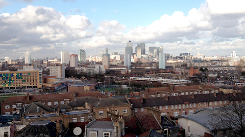 View of south-east London. Pic: Weidong Lin