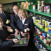Opening of the Vine foodbank, New Addington, Croydon. By Fergus Burnett