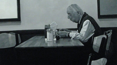 """""""Nico's Cafe"""", Nathan Eastwood. Photo: Paula Donnelly"""