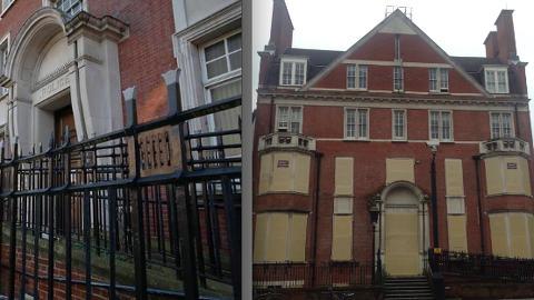 Former Hackney Police Station. Photo: Deana Georgas and Hackney Gazette