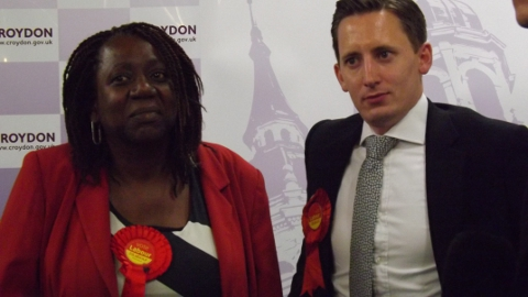 New Addington Ward Oliver Lewis and Lousia Woodley - Labour Councillors