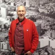 MA Graphic Design alumnus: Rob Mowbray. Pics: Qianru Wu & Laerke Nielsen