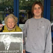 Members from the anti- NHS campaign. Pic: Qianru Wu and Laerke Nielsen