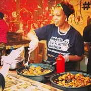 Natalie Coleman loves the variety of food available in Hackney Pic: @StreetfeastLDN