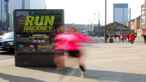 Vitality Run Hackney Half Marathon takes place this Sunday. Pic: Creative Minds PR