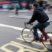 Cycling in London is growing in popularity
