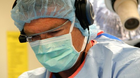 The surgery at The Royal London Hospital was the first one where a cancer was removed using Google Glass technology. Photo: Smusmc.com