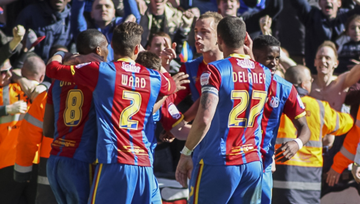 Crystal Palace have secured a spot in the FA Cup Final in Wembley PIC: Tom Brogan