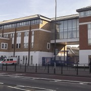 Lewisham police station Pic: David Anstiss