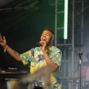 Lewisham based artist MNEK performing at Glastonbury Festival 2014  Pic:  Neal Whitehouse Piper