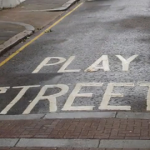 Council plans safe streets for children to play. Pic: Tina Akinmade