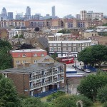 SD_HousingMgt_Cap _Homerton towards the city. Pic SarfLonodonDunc