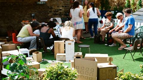 Exploring New Ideas For The Urban Garden In Dalston