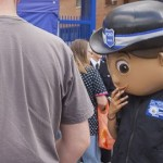 Family fun at Lewisham police open day. Pic: Niall Sargent