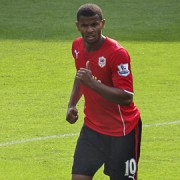 Frazier Campbell - Cardiff City 2013Pic:Jon Candy