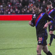 Marouane Chamakh in action for Crystal Palace Pic: Ronnie Macdonald