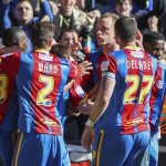Crystal Palace players. Pic: Tom Brogan