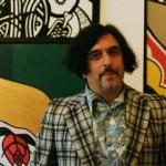 Lennie Lee in his house full of art Pic: Jimena Marseillan