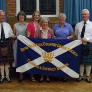 Members of RSCDS. Pic: George Ferrier