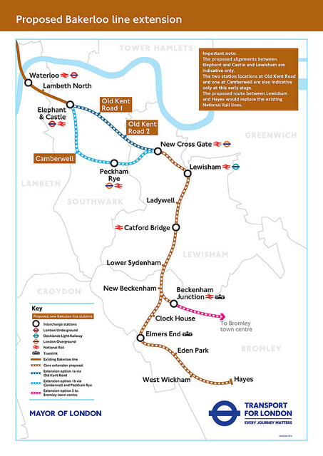 Bakerloo extension TFL