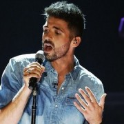 Ben Haenow performing on the X Factor. Pic: X Factor