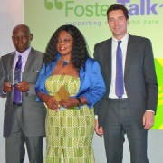 Kathryn Foster award pic Tower Hamlets council press release