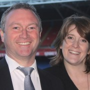 Labour's Steve Reed and Sarah Jones. Photo: Zone4Croydon