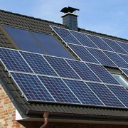 Solar panels in use. Photo: Wikimedia