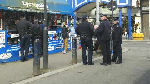 Police conducting raids. Pic: Anti Raids Network