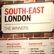 South-East London winners sign at Time Out Awards event. Pic: Edmund Bing