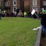 New Era protest in Hackney. Pic: @Ben_maloney