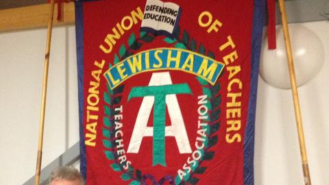 Lewisham NUT Meeting. Pic: Emma Henderson