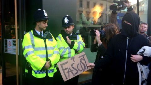 Student Protest. Pic: Kate Ng