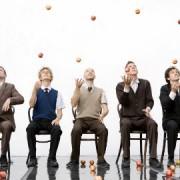 Gandini Juggling 'Smashed Masters 2014'. Pic: Ludovic des Cognets