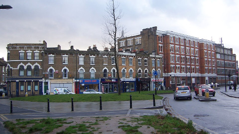 Shacklewell Lane, Hackney. Pic: sarflondonunc