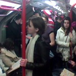 Crowded Central line train Pic: Flickr