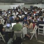 Tech event in Shoreditch. Pic: @PotentiallyCo
